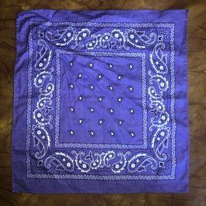 💥Really cool purple patterned bandanna 💥